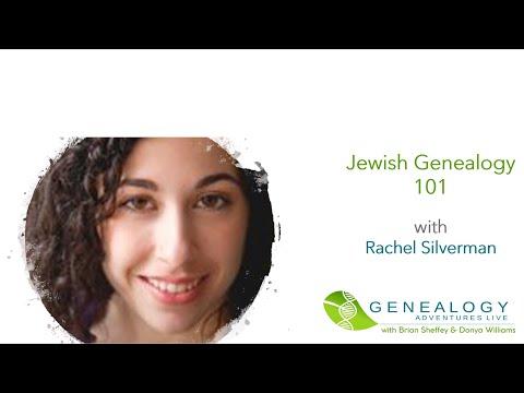 Genealogy Adventures Special: Jewish Genealogy 101 with Rachel Silverman