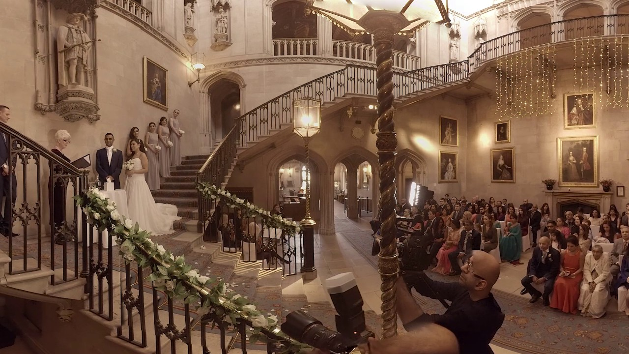 Vr 360 Wedding Ceremony: Wedding Of Nikesh & Sheenal @ Ashridge House, UK