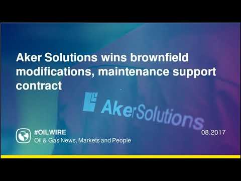 Aker Solutions wins brownfield modifications, maintenance support contract