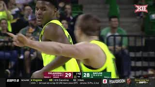 Baylor vs Oklahoma Men's Basketball Highlights
