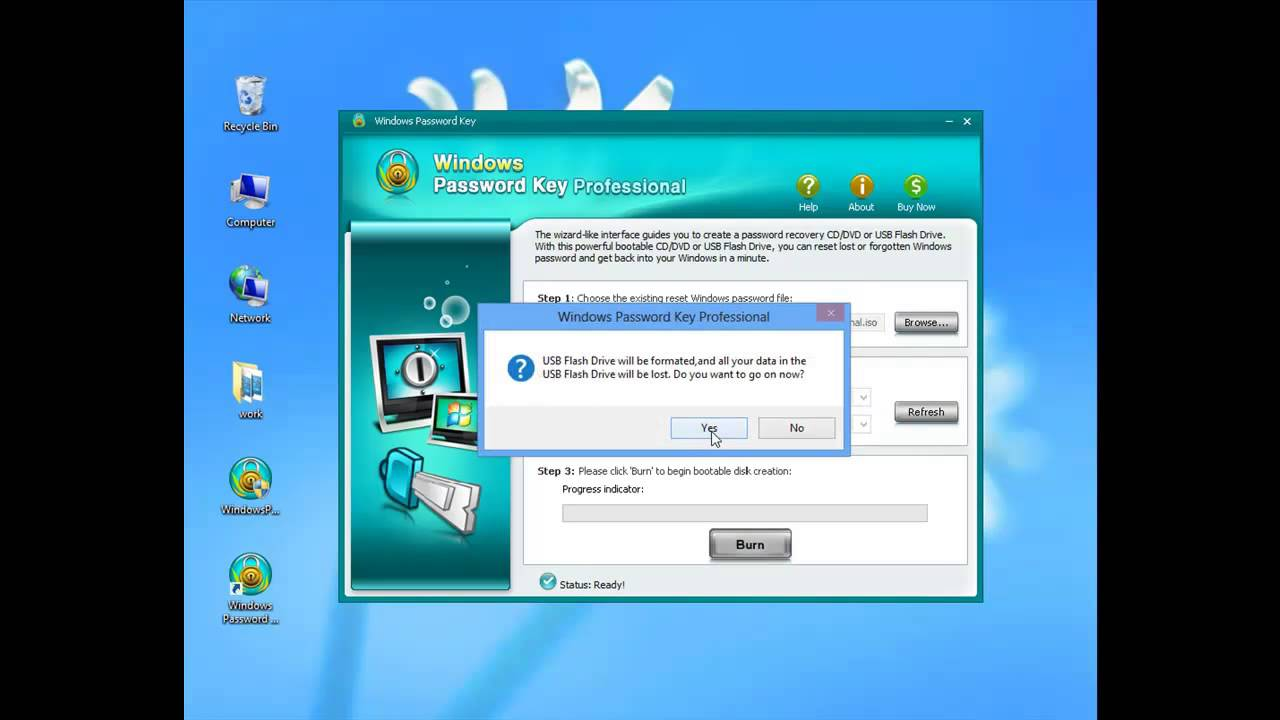 administrator password win 8