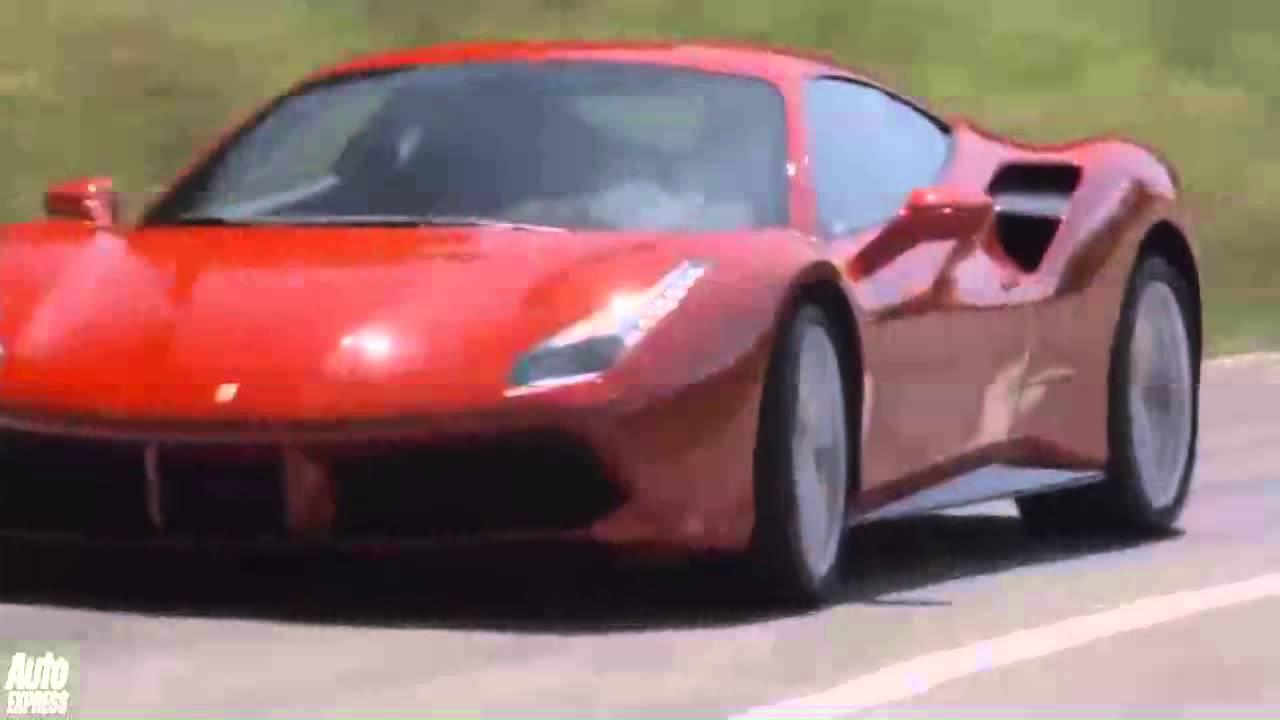 Ferrari Car The New 488 Gtb 2016 Hd
