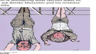 Mussolinis Granddaughter Slams Jim Carrey Over Drawing Of Wartime Italian Fascist Leader Daily Mai