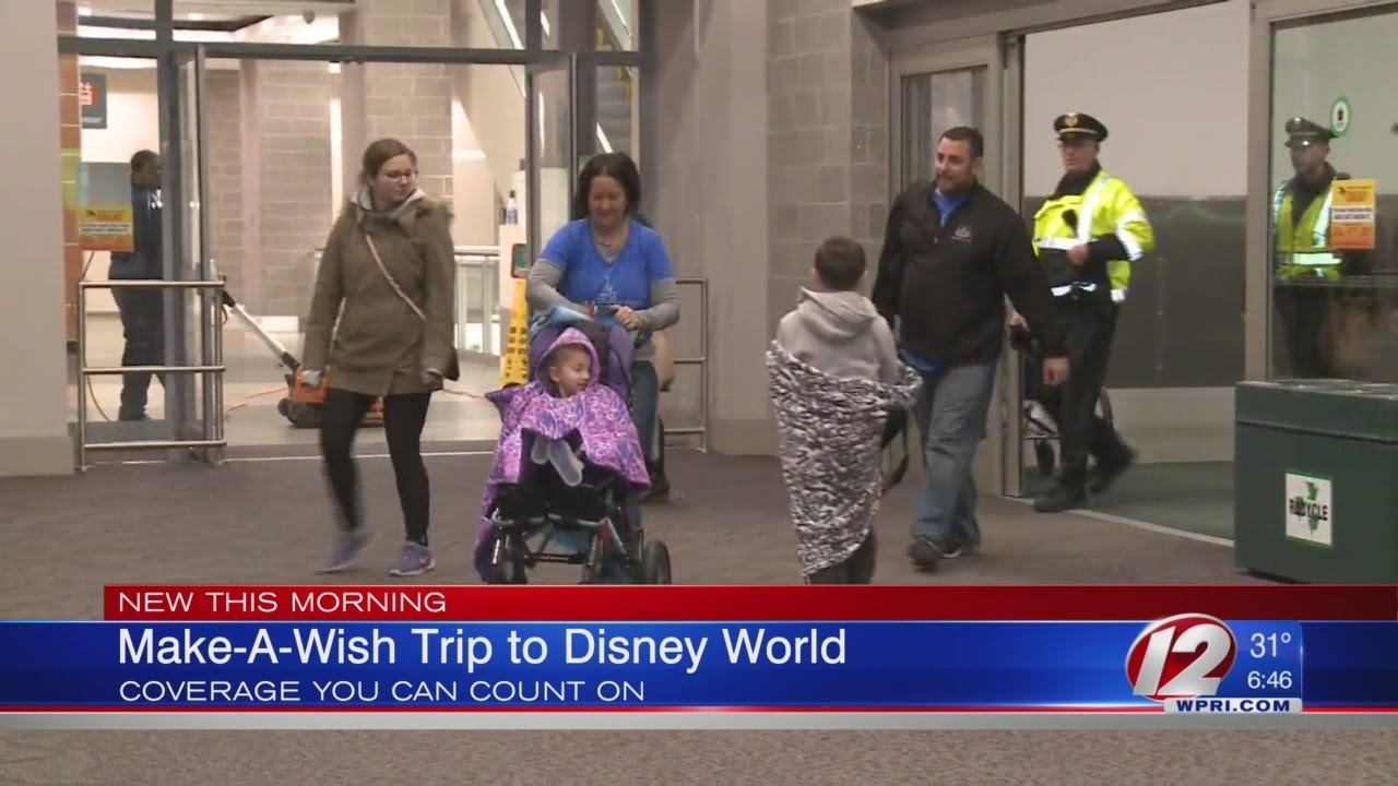 Berlan S Make A Wish Trip To Disney World