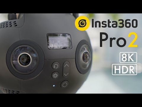 8K HDR 360 Camera! Insta360 Pro 2 Hands-on First Lok