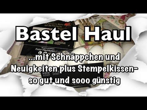 Bastel Haul (deutsch), neue Blöcke, tolles Zubehör und grandioses Stempelkissen, DIY, Scrapbook