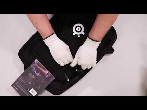 "Unboxing Targus SteelSeries Sniper 17.3"" Gaming Backpack - Black hands on review"
