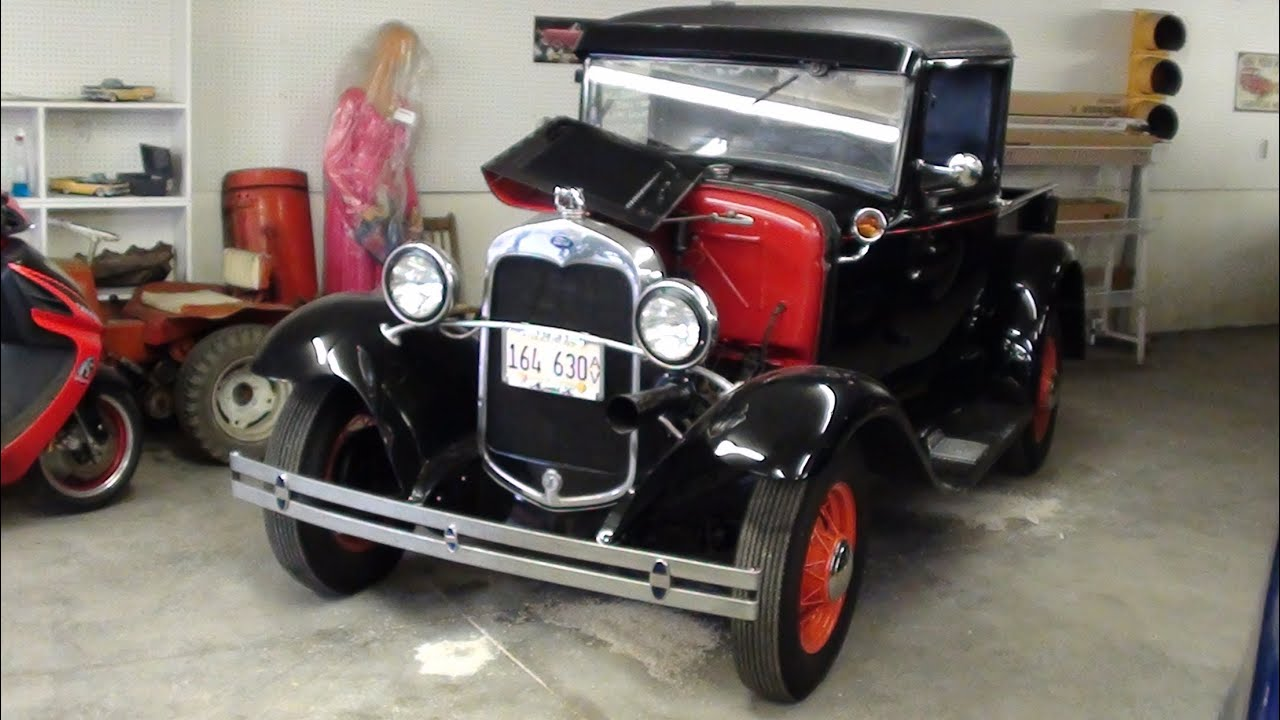 1931 Ford Model A Pickup Truck  YouTube