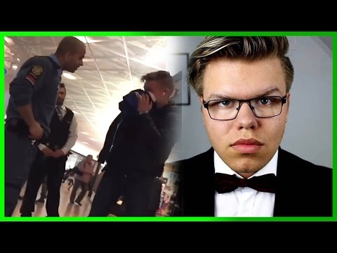 Victor Höglund RÅNAD, youtuber UTSLÄNGD från köpcentrum! Helen Torsgården (Svenska youtubenyheter)