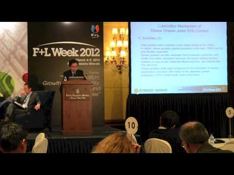6th Asia-Pacific Base Oil, Lubricant & Grease Conference: Takashi Okaniwa