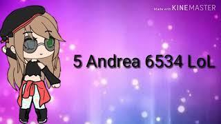 Intro para 5 Andrea 6534 LoL |espero te guste prima|