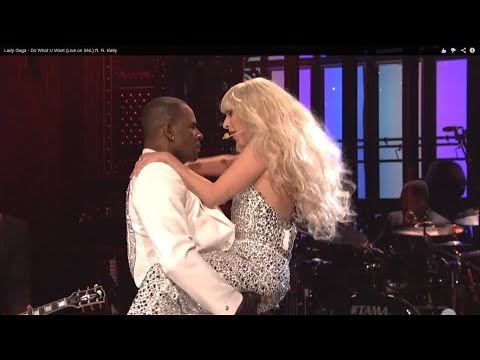 LADY GAGA   ''DO WHAT YOU WANT WITH MY BODY'' LIVE ON SNL FT R  KELLY (REVIEW)