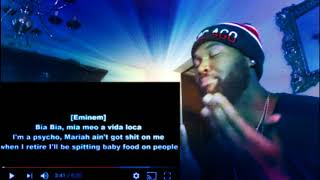 Obie Trice - We all die one day (feat.G Unit and Eminem) - REACTION thumbnail