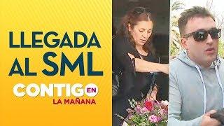 Así fue la llegada de la madre de Fernanda Maciel y Luis Pettersen al SML - Contigo en La Mañana