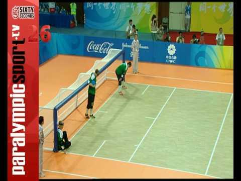 Beijing 2008 Paralympic Games Goalball Men Final CHN vs LTU