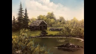 "The Painting With Magic Show SE:6 EP:5 ""Old Hunting Cabin"""