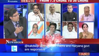 The Newshour Debate From - 7.5 crores to 58 crores (Part 1 of 3)