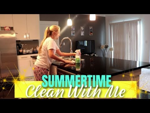 Gypsy House Wife ♥ SUMMER 2019 CLEAN WITH ME / CLEANING MOTIVATION / CLEANING ROUTINE