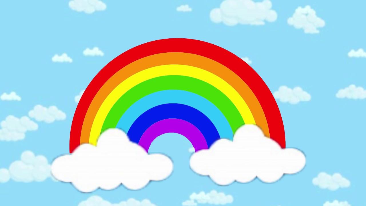 Радуга картинка для детей цвета