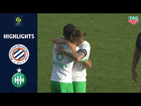 Montpellier St. Etienne Goals And Highlights