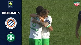 MONTPELLIER HÉRAULT SC - AS SAINT-ÉTIENNE (1 - 2) - Highlights - (MHSC - ASSE) / 2020-2021