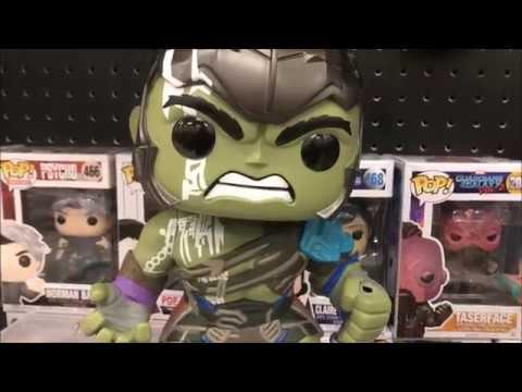 Funko Pop HULK 10 Inch #Marvel Ragnarok Target Exclusive WITH BROKEN HAMMER!!!! from YouTube · Duration:  2 minutes 2 seconds