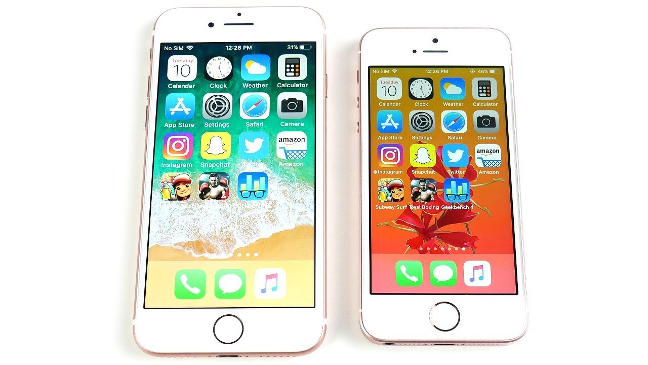 IPHONE 7 VS SE REVIEW
