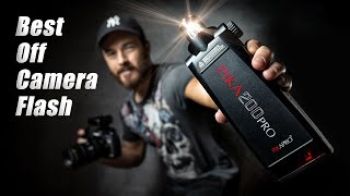 PIKA200 Pro - INCREDIBLE OFF CAMERA FLASH PHOTOGRAPHY (Godox AD200 Pro) 4K