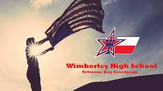 Wimberley ISD Veterans Day Ceremony