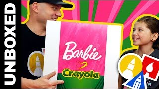 Unboxing - Barbie Loves Crayola - PLUS GIVEAWAY 🎁