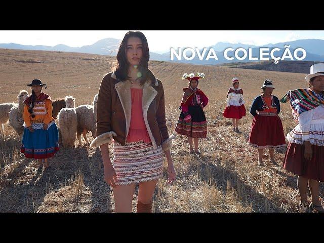 c7ff11e90 Riachuelo escolheu Cusco