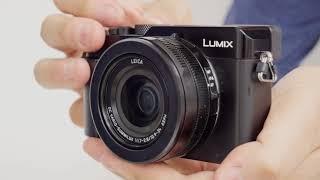 パナソニック LUMIX「LX100M2」でスイッチを入れた時のレンズの様子