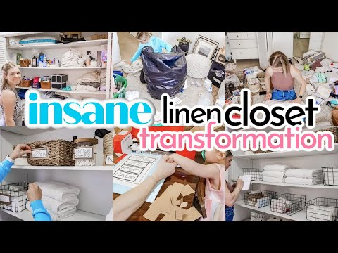 SPRING CLEANING OUR FIXER UPPER | DEEP CLEAN | DECLUTTER AND ORGANIZE | INSANE CLOSET MAKEOVER! - Denise Bangiyev