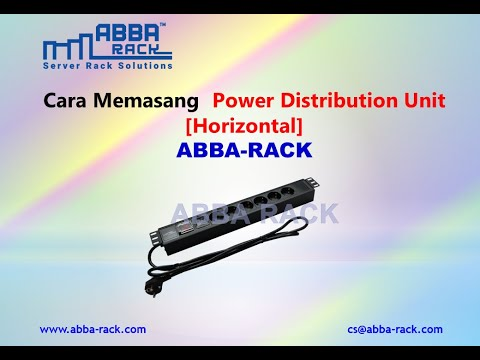 how-to-install-the-power-distribution-unit---horizontal,-abba-rack