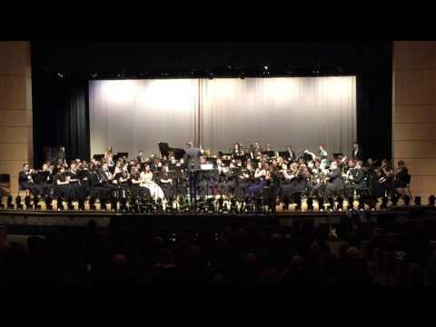 Clover Hill High School Spring band concert 4