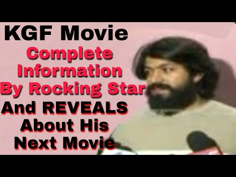 Finaly Yash Reveals Complete Information about KGF And Next Movie Matter