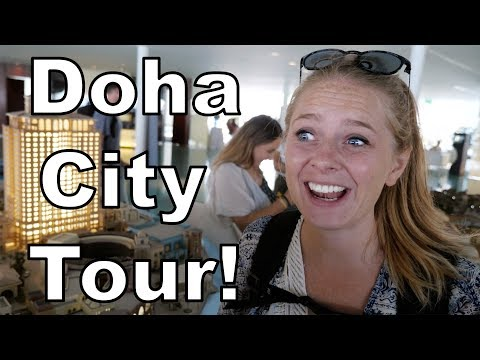 Doha City Tour - One Crazy Day in Qatar!