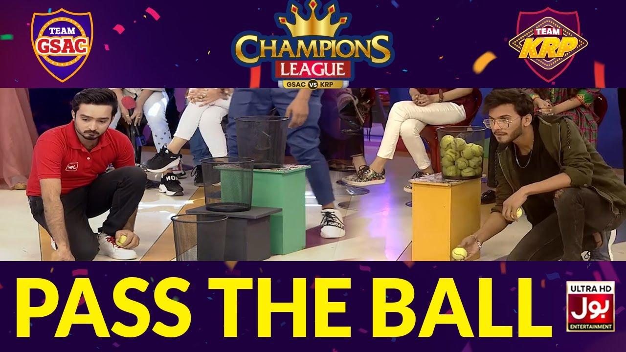 Pass The Ball | Champions League | Game Show Aisay Chalay Ga vs Khush Raho Pakistan