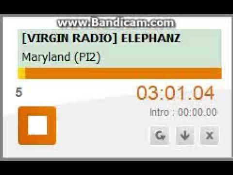 [Virgin Radio] Elephanz Eugenie - Maryland (PI)