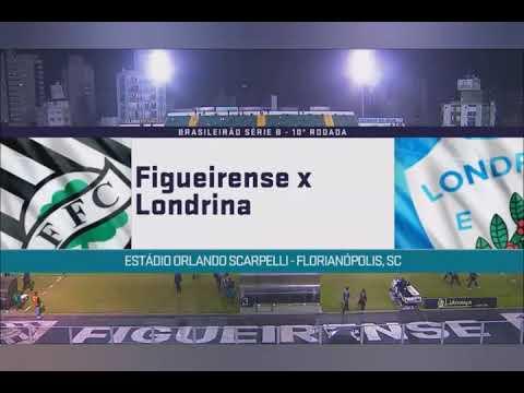 Campeonato Brasileiro série B Figueirense 1 x 1 Londrina melhores momentos