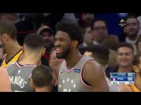 Utah Jazz vs Philadelphia 76ers | November 16, 2018