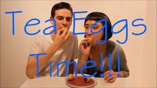 Matsan Makes Tea Eggs!