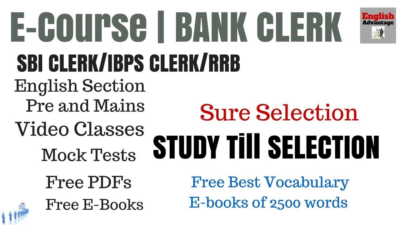 Ibps Clerk English Study Material Pdf