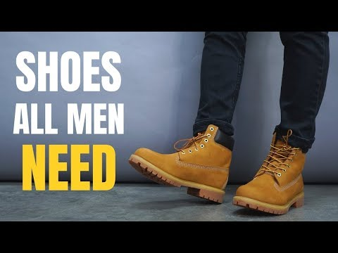 Top 7 Fall/Winter Shoes Every Guy Needs To Own