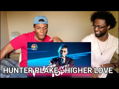 "The Voice 2017 Hunter Plake - Top 10: ""Higher Love"" (REACTION)"