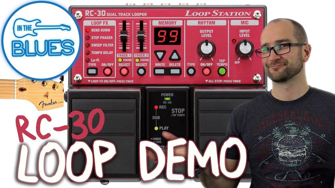 boss rc 30 loop station guitar demo youtube rh youtube com boss rc 300 manual boss rc-30 manual english