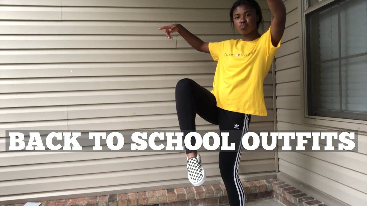 Back To School Outfit Ideas IN THE RAIN?!!  30-30 - YouTube