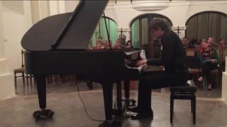 Ludwig van Beethoven: Sonata C major op.2/3 - I. Allegro con brio - Jan Dušek - piano /LIVE/