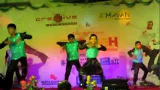 Cre8Ive Dance School Tirunelveli - A R Rahuman 39 s Ayutha Ezhuthu - Yakkai Thiri.mp3
