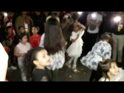مظاهرات في ميسان رقص بنات مستمرين سلميه